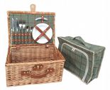 Willow Direct 2 Person Tweed Hamper